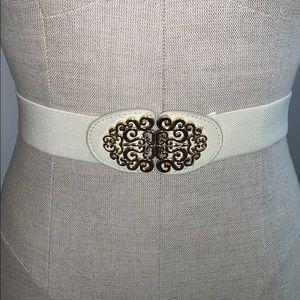 Off white waist belt